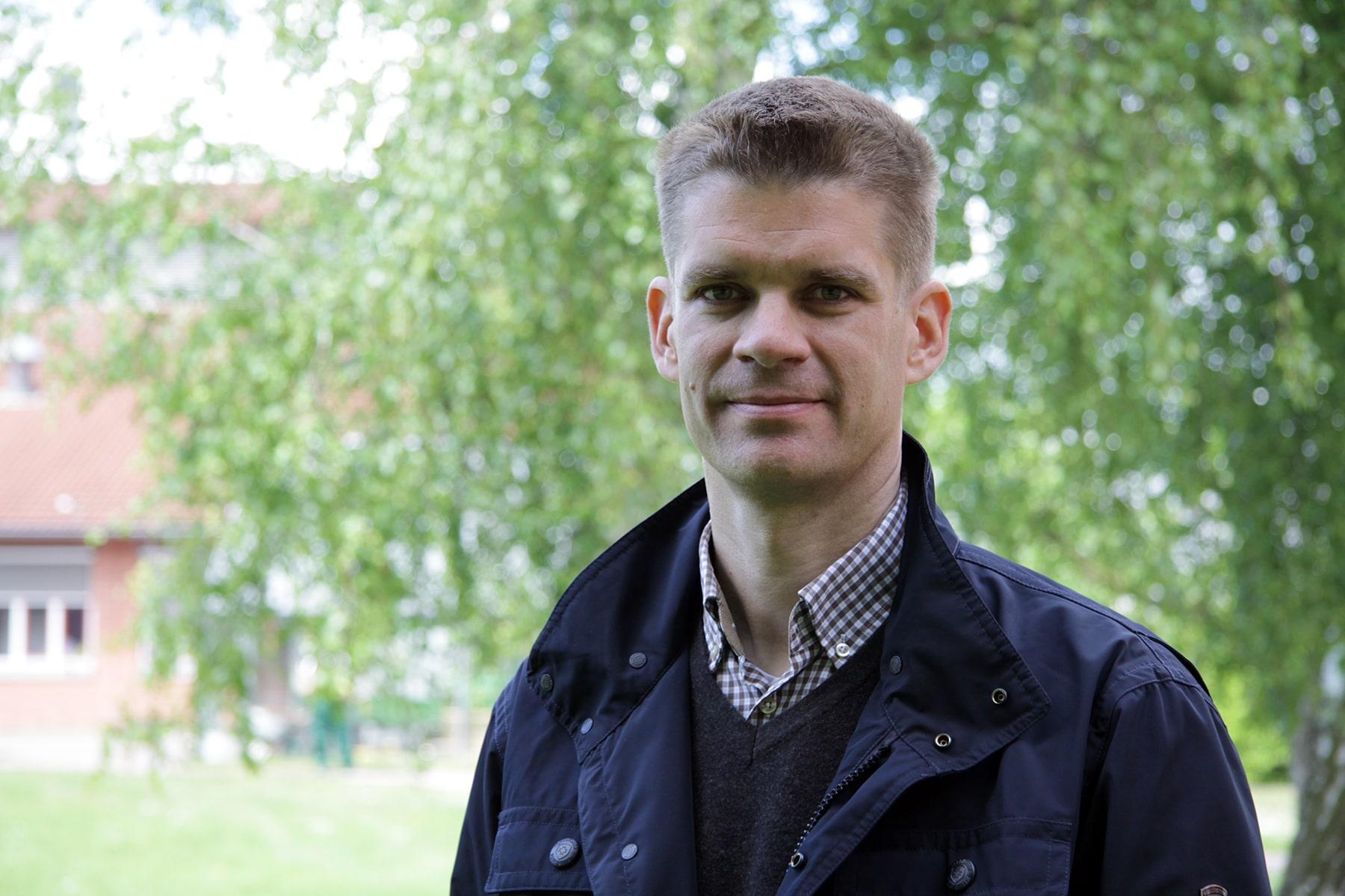 Lutz Regenberg, Leiter Kommunikation bei der Vorwerker Diakonie