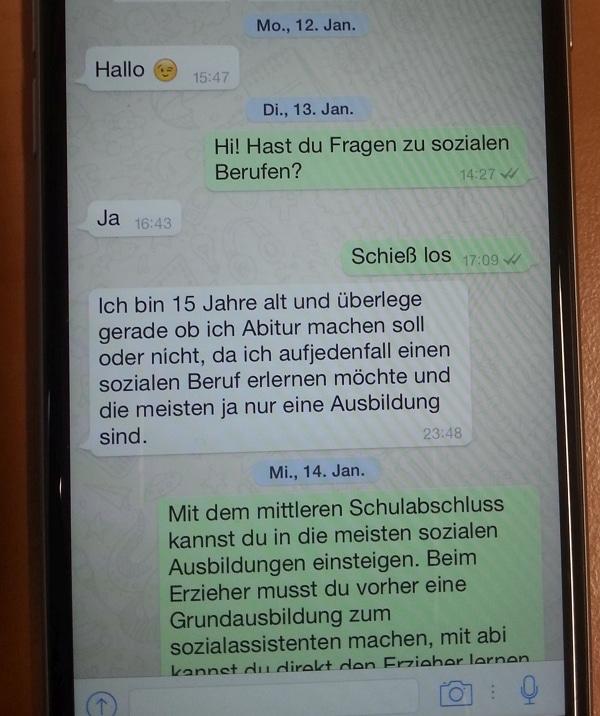 WhatsApp-Chat-bei-Soziale-Berufe-kann-nicht-jeder
