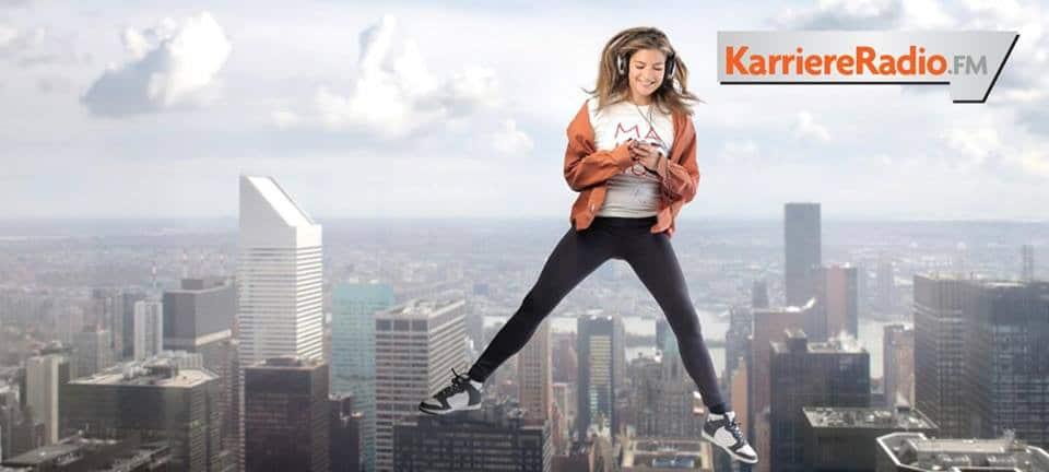 Werbemotiv von KarriereRadio FM