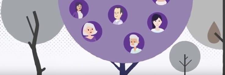 Das Bild zeigt ein Standbild aus dem Erklärfilm über DQR, EQR und kompetenzorientierte Personalgewinnung