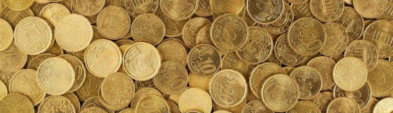 Recruiting Recruitment Budget Kosten: Das Bild zeigt einen Haufen Euro-Münzen - Quelle Pixabay.com