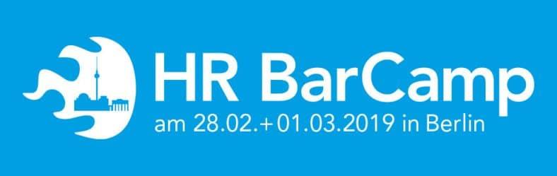 Logo des HR Barcamp 2019 mit Schwerpunkt Generation Z und New Work
