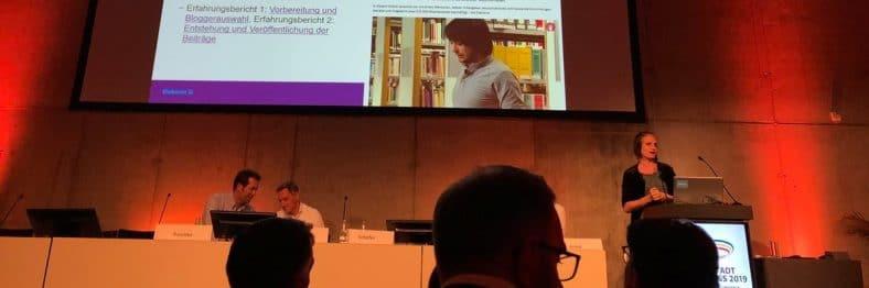 Maja Schäfer beim Hauptstadtkongress Medizin und Gesundheit 2019, Foto: Katharina Lutermann