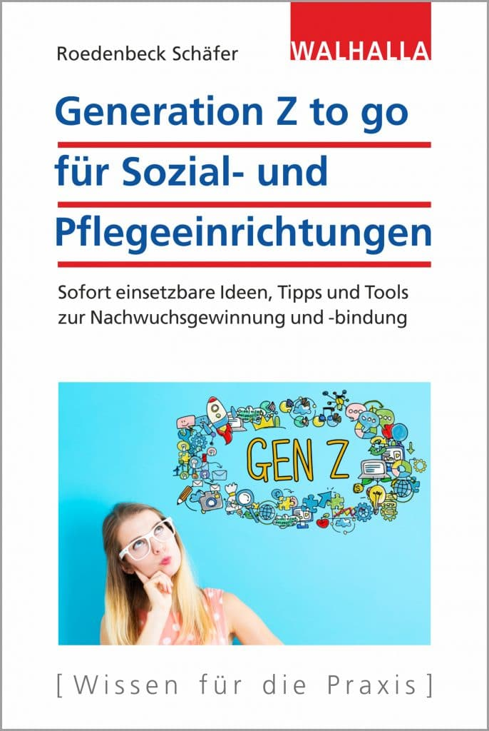 Generation Z to go für Sozial- und Pflegeeinrichtungen von Maja Roedenbeck Schäfer - Buchcover