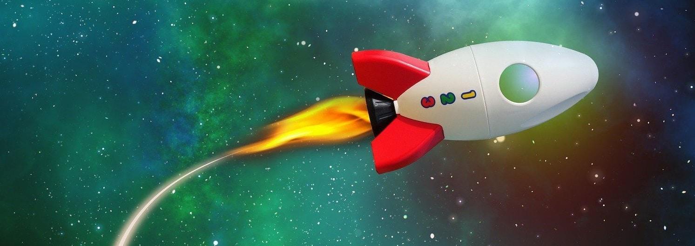 Geht Care Rockets ab wie diese Rakete?