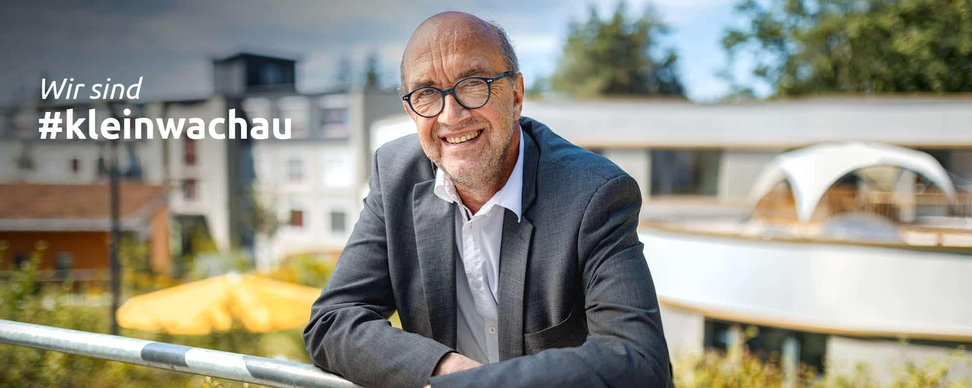 Wallmann, der Geschäftsführer im Epilepsiezentrum Kleinwachau: Nachfolge durch Headhunter Methoden gesucht