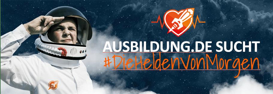 Titelbild zur Kampagne # dieheldenvonmorgen von Ausbildung.de